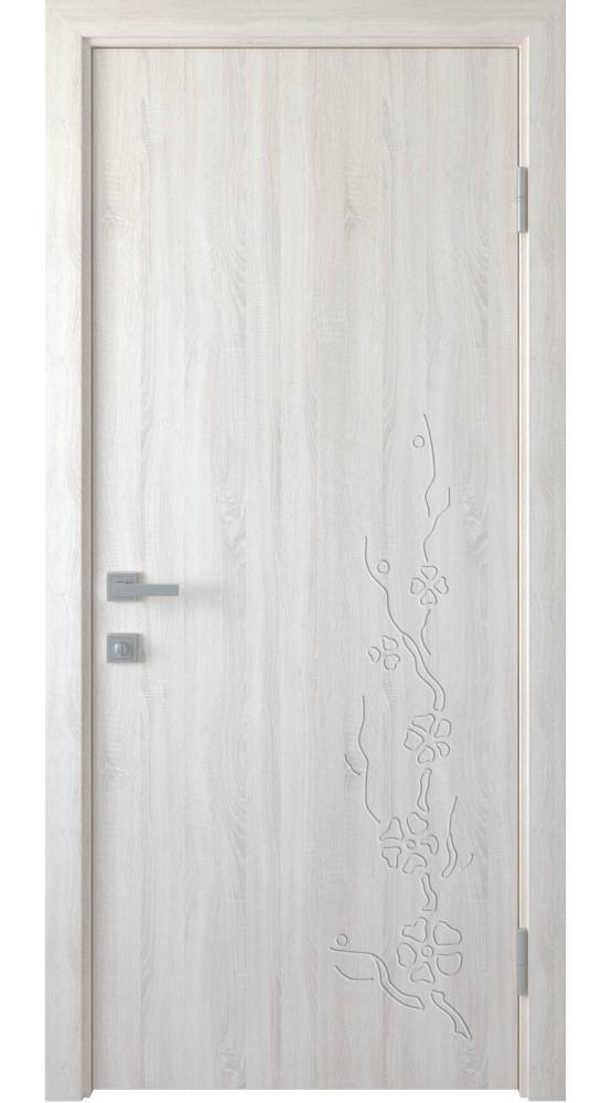 Двери Сакура Новый Стиль ясень делюкс глухое