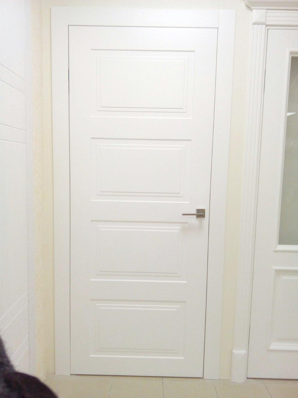 Белые двери Родос Siena Laura