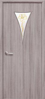 Двери Бора Новый Стиль сандал со стеклом Р1