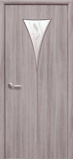 Двери Бора Новый Стиль сандал со стеклом Р3