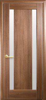Двери Босса Новый Стиль золотая ольха со стеклом