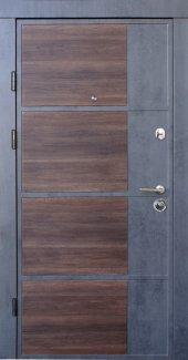 Двері Qdoors Преміум Бостон-М бетон темний / бетон світлий
