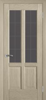 Межкомнатные двери Двері Классік-2 НСД грей зі склом
