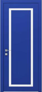 Межкомнатные двери Двері Cortes Venezia Родос RAL 5010 напівскло