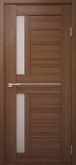 Двері Модель DEKO-01 дуб amber зі склом