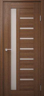 Двері Модель DEKO-09 дуб amber зі склом