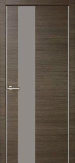 Двери Модель 03 Дуб Ash Line со стеклом