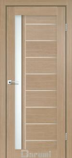 Межкомнатные двери Двері Bordo Дарумі дуб натуральний скло сатин