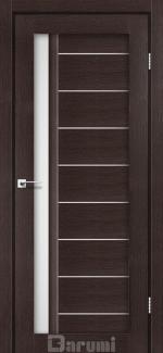 Межкомнатные двери Двері Bordo Дарумі венге панга скло сатин