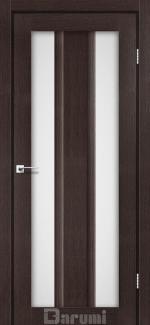 Межкомнатные двери Selesta Дарумі венге панга скло сатин