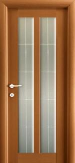Межкомнатные двери Дельта НСД анегри со стеклом
