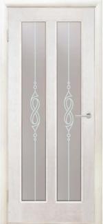 Межкомнатные двери Двері Дельта НСД ваніль зі склом