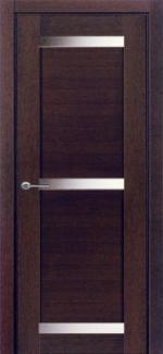 Межкомнатные двери Двери Дублин-3 НСД дуб графит со стеклом