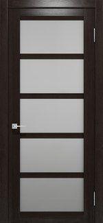 Двери Ваш Стиль Дукат венге со стеклом