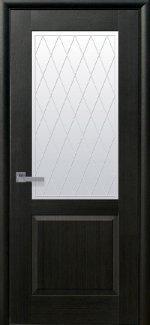 Межкомнатные двери Эпика Новый Стиль венге делюкс со стеклом Р2