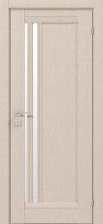 Двери Fresca Colombo беленый дуб полустекло