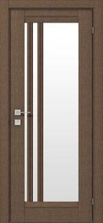 Межкомнатные двери Fresca Colombo Родос орех классический со стеклом