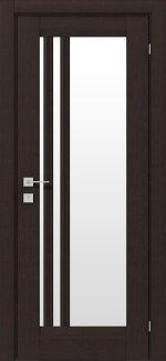 Межкомнатные двери Fresca Colombo Родос венге маро со стеклом