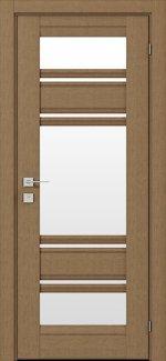 Двери Fresca Donna дуб натуральный со стеклом
