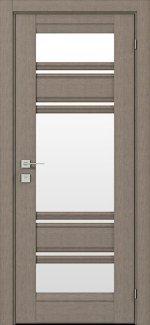 Двери Fresca Donna серый дуб со стеклом
