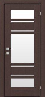 Межкомнатные двери Fresca Donna Родос каштан американский со стеклом