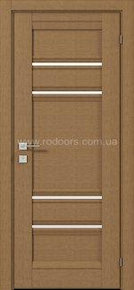 Межкомнатные двери Fresca Donna Родос меранти полустекло