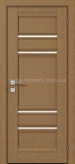 Двери Fresca Donna меранти полустекло