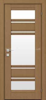 Двери Fresca Donna меранти со стеклом