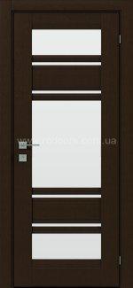 Межкомнатные двери Fresca Donna Родос орех борнео со стеклом