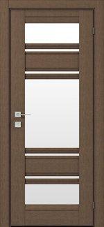 Межкомнатные двери Fresca Donna Родос орех классический со стеклом