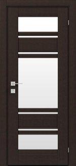 Межкомнатные двери Fresca Donna Родос венге шоколадный со стеклом