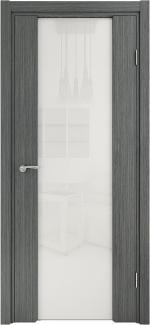 Межкомнатные двери Двері Глазго НСД грей зі склом