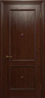 Двери Статус Дорс Golden Cross C-11 шоколадный глухое