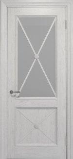 Двери Статус Дорс Golden Cross C-12.S01 белоснежный стекло Сатин