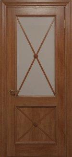 Двері Статус Дорс Golden Cross C-12.S02 карамельний скло бронза