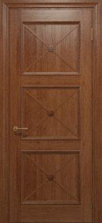 Межкомнатные двери Двері Golden Cross Прованс Статус Дорс темний горіх глухе