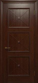 Двері Статус Дорс Golden Cross C-21 шоколадний глухе