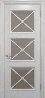 Двери Golden Cross C-22.S01 белый стекло сатин белый
