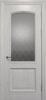 Межкомнатные двери Двері Golden Elegante Адажіо Статус Дорс білі скло-1 ромбы белые