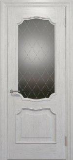 Межкомнатные двери Двері Golden Elegante Алегро Статус Дорс білі скло-1 ромбы белые