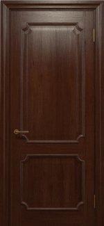 Двері Статус Дорс Golden Elegante E-31 шоколадний глухе