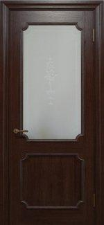 Двері Статус Дорс Golden Elegante E-32.4 мокко скло-4