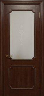 Двери Статус Дорс Golden Elegante E-32.4 шоколадный стекло-4