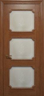 Двері Статус Дорс Golden Elegante E-42.5 карамельний скло-5
