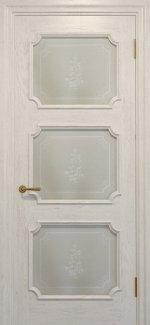 Двери Статус Дорс Golden Elegante E-42.5 слоновая кость стекло-5