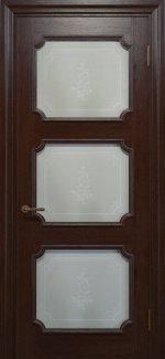 Двері Статус Дорс Golden Elegante E-42.5 мокко скло-5