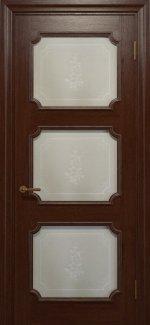 Двері Статус Дорс Golden Elegante E-42.5 шоколадний скло-5