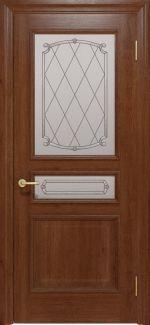 Межкомнатные двери Двері Golden Interia Відень Статус Дорс темний горіх скло-9