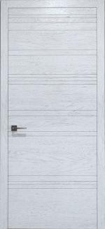 Межкомнатные двери Двері Golden Ultra U-013 Статус Дорс білі глухе з фрезеруванням