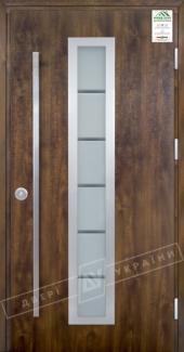 Входные двери Двери Украины Grand House Модель №1 ручка Fashion